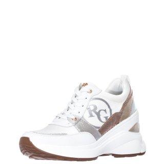 Γυναικεία Sneakers 179 21EX12 Eco Leather Σατέν Λευκό Renato Garini