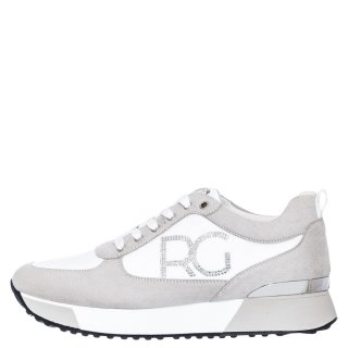 Γυναικεία Sneakers 18 21EX08 Eco Leather Eco Suede Λευκό Renato Garini