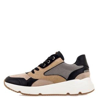 Γυναικεία Sneakers 199 21EX117 Eco Leather Eco Suede Μπεζ Renato Garini