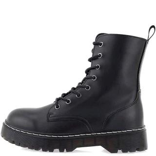 Ανδρικά Μποτάκια 200 CARDY C Eco Leather Μαύρο Renato Garini