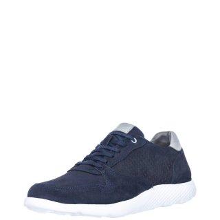 Ανδρικά Sneakers 203 SY 142 03 Δέρμα Μπλέ Renato Garini