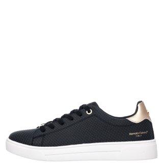Γυναικεία Sneakers 20VW2003 Eco Leather Φίδι Μαύρο Χρυσό Renato Garini