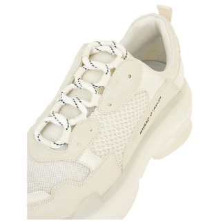 Γυναικεία Sneakers 21EX142 Ύφασμα Eco Leather Offwhite Renato Garini