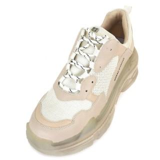 Γυναικεία Sneakers 21EX142 Ύφασμα Eco Leather Μπεζ Renato Garini