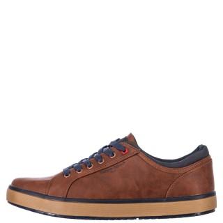 Ανδρικά Sneakers 3156 4NEW Eco Leather Ταμπά Renato Garini