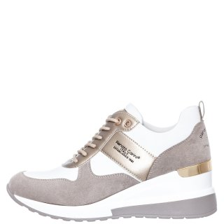 Γυναικεία Sneakers 34 21RG01 Eco Leather Eco Suede Λευκό Χρυσό Renato Garini