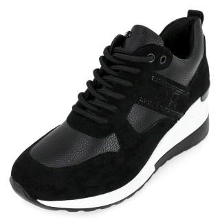 Γυναικεία Sneakers 34 21RG01A Eco Leather Eco Suede Μαύρο Renato Garini