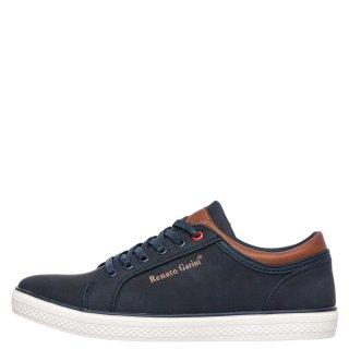 Ανδρικά Sneakers 564 Eco Leather Μπλέ Renato Garini
