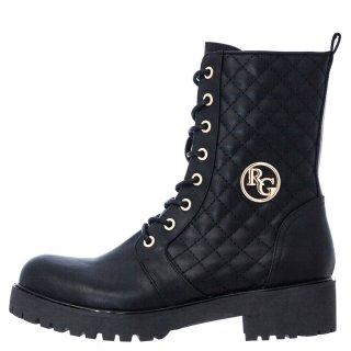 Γυναικεία Μποτάκια 597 ANCONA 122 Eco Leather Μαύρο Renato Garini