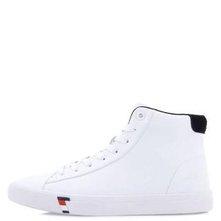 Ανδρικά Μποτάκια 902H ZS Eco Leather Λευκό Renato Garini