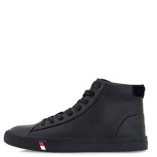 Ανδρικά Μποτάκια 902H ZS Eco Leather Μαύρο Renato Garini