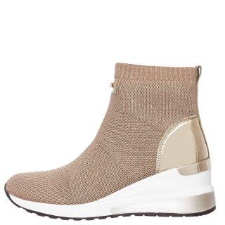 Γυναικεία Sneakers EX2106 RG8850 Ελαστικό Ύφασμα Χρυσό Renato Garini