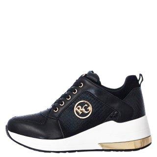 Γυναικεία Sneakers EX2110 Eco Leather Μαύρο Renato Garini