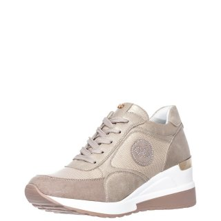 Γυναικεία Sneakers EX2141 Eco Leather Πλατίνα Renato Garini