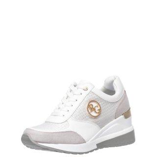 Γυναικεία Sneakers EX9929 Eco Leather Eco Suede Λευκό Renato Garini