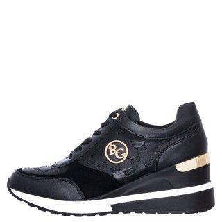Γυναικεία Sneakers EX9929 Eco Leather Μαύρο Renato Garini