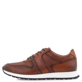 Ανδρικά Sneakers LY202 M4 Δέρμα Ταμπά Renato Garini