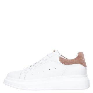 Γυναικεία Sneakers RG2101 Eco Leather Λευκό Ροζ Renato Garini