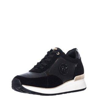 Γυναικεία Sneakers RG2201 Eco Leather Eco Suede Μαύρο Renato Garini
