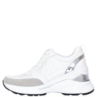 Γυναικεία Sneakers RG2214 Eco Leather Σατέν Λευκό Renato Garini