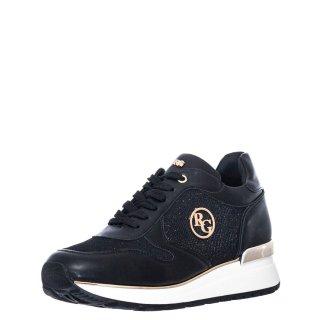Γυναικεία Sneakers RG2215 Eco Leather Μαύρο Renato Garini