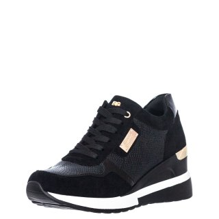 Γυναικεία Sneakers RG2252 Eco Leather Eco Suede Μαύρο Renato Garini