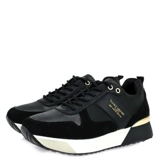 Γυναικεία Sneakers RG2262 Eco Leather Eco Suede Μαύρο Renato Garini