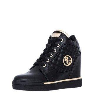 Γυναικεία Sneakers SANDY 833 Eco Leather Μαύρο Renato Garini