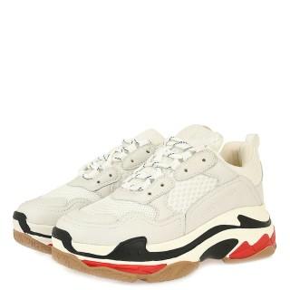 Γυναικεία Sneakers SHN007 03AAN Ύφασμα Eco Leather Λευκό Πάγος Renato Garini