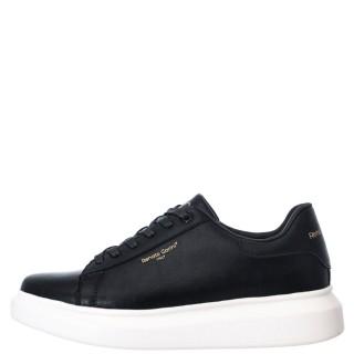 Ανδρικά Sneakers ZS 724 Eco Leather Μαύρο Λευκό Renato Garini