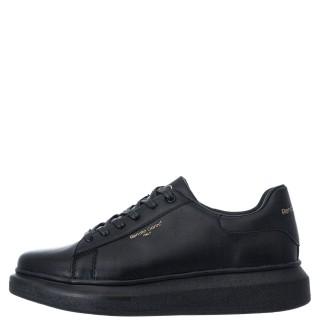 Ανδρικά Sneakers ZS 724 Eco Leather Μαύρο Renato Garini