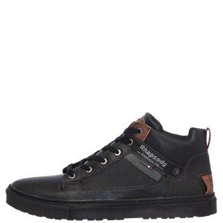 Ανδρικά Μποτάκια 709194 Eco Leather Μαύρο Rhapsody