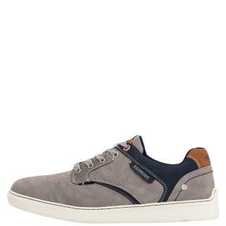 Ανδρικά Sneakers 803001 Ύφασμα Eco Leather Γκρι Rhapsody