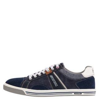 Ανδρικά Sneakers 803065 Ύφασμα Eco Suede Μπλέ Rhapsody