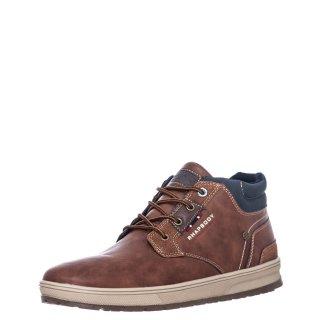 Ανδρικά Μποτάκια 810305 Eco Leather Ταμπά Rhapsody