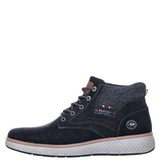 Ανδρικά Μποτάκια 909417 Eco Leather Μαύρο Rhapsody