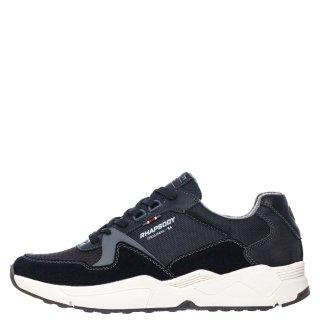 Ανδρικά Sneakers 909443 Ύφασμα Eco Leather Μαύρο Rhapsody