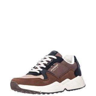 Ανδρικά Sneakers 909443 Ύφασμα Eco Leather Καφέ Rhapsody