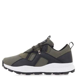 Ανδρικά Sneakers CH 001332 Ύφασμα Eco Leather Χακί Rhapsody