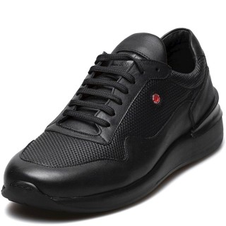 Ανδρικά Sneakers 2604 145 Δέρμα Μαύρο Robinson