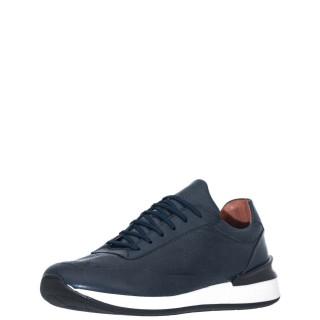 Ανδρικά Sneakers R31500 Δέρμα Μπλέ Robinson