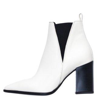 Γυναικεία Μποτάκια 19 581 Eco Leather Λευκό SANTE