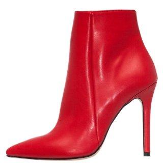 Γυναικεία Μποτάκια 19 627 Eco Leather Κόκκινο SANTE