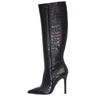 Γυναικείες Μπότες 19 633 Eco Leather Μαύρο SANTE