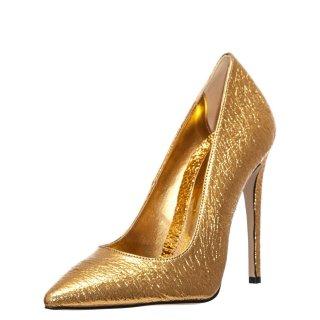 Γυναικείες Γόβες 19 635 Eco Leather Χρυσό Sante