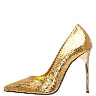 Γυναικείες Γόβες 19 636 Eco Leather Χρυσό Sante