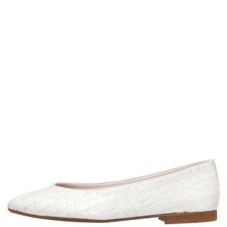 Γυναικείες Μπαλαρίνες 20 114 Eco Leather Λευκό Sante