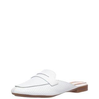 Γυναικεία Mules 20 123 Δέρμα Λευκό Sante