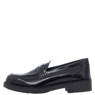 Γυναικεία Μοκασίνια 20 420 Eco Leather Μαύρο Sante Day2Day