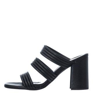 Γυναικεία Πέδιλα 21 214 Eco Leather Μαύρο Sante